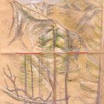 Berglandschaft im Ida-Gebirge