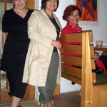 Karin, Angelika, Rajka (von links nach rechts)
