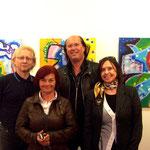 Vlado, Rajka Klaus Grape und Angelika Deuber