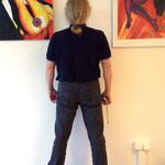 Vlado vor der Wand! Wie weiter? :)