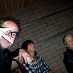 Roland, Carmen und Brigitte Hasler (Kursleiterin)