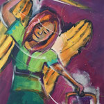 Erzengel Michael, 60 x 80 cm