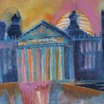 Berlin Reichstag, 76 x 56 cm