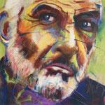 Der Mann, 100 x 100 cm, verkauft