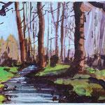 Der Fluss, 30 x 40 cm, 120 Euro