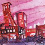 Essen Zeche Zollverein, 76 x 56 cm, verkauft