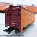 Märklin 45680 Set- 3 Kühlwagen (Refrigerator Car) Typ R-40-14 der UP / S.P.      10