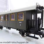 Fleischmann 5093 DRG II BCi bay10 Personenwagen 2./3. Klasse mit Gefangenenabteil