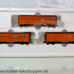 Märklin 45680 Set- 3 Kühlwagen (Refrigerator Car) Typ R-40-14 der UP / S.P.      4