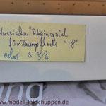 """Reisezugwagen-Satz """"Rheingold"""" der DR / Märklin 4228  14"""