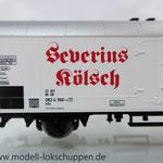 Fleischmann 845326 Sonderwagen Modellbahnausstellung 2004: Severins-Kölsch der DB