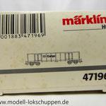 Märklin 47196 Güterwagen Gattung Eanos- 534 6 568-8 DB Cargo, Epoche V