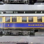 """Reisezugwagen-Satz """"Rheingold"""" der DR / Märklin 4228  10"""