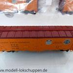 Märklin 45680 Set- 3 Kühlwagen (Refrigerator Car) Typ R-40-14 der UP / S.P.      7