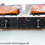 Märklin 45680 Set- 3 Kühlwagen (Refrigerator Car) Typ R-40-14 der UP / S.P.      11