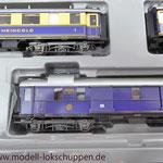"""Reisezugwagen-Satz """"Rheingold"""" der DR / Märklin 4228  8"""
