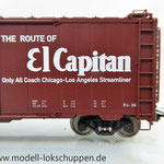 Märklin 45651 Typ XM der Atchison, Topeka & Santa Fe Railway (AT & SF)    7