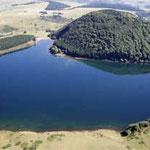 Lac de Montcineyre, autour duquel François Miterrand aimat flaner