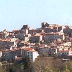 Vue de la ville de Thiers