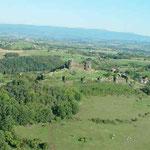 De nombreux châteaux jalonnent la région