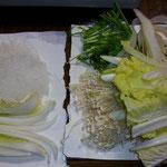 野菜と春雨~~