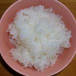 白いご飯!