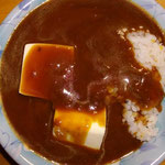 豆腐入りカレーライス(レトルト)  夜