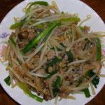 野菜炒め  昼