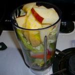 生ジュース野菜とりんご  朝