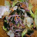 海藻サラダ  夜