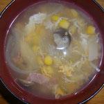 コーンスープ中華風