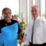 1. Platz: USV Lichtenau mit Bgm. Johann Hölzl