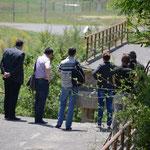 Zerstörte Brücke in Leposavic - die Gemeinde erhofft sich Hilfe von der Schweiz