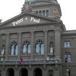 Ausflug der Stanser Jodlerbuebe ins Bundeshaus