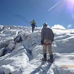 Sur le Glacier du Tour