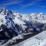 Mt-Blanc, Grandes Jorasses et Vallée de La Thuile