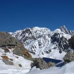 Le Mont Blanc, encadré