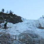 A la descente dans Bonhomme de glace