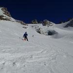 Philipp sur le Glacier du Tour Noir