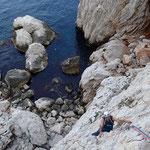Le Bec de Sormiou: belle escalade, ambiance au top!