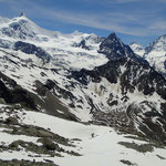 Les sommets proches: Zinalrothorn, Ober, Dent Blanche