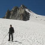 Sur le Glacier des Rognons