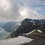 Le lac d'Emosson est bien là mais le Mont Blanc manque à l'appel