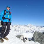 Oskar au Col d'Argentière