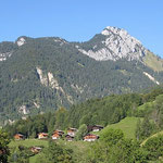 """Rocher de Salin-La Palange, à Entremont. Accès par """"Paradis"""" au Petit-Bornand."""