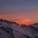 Lenticulaires en formation au-dessus du Val d'Aoste