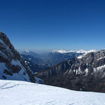 La vallée vue du replat du Chatêlet