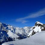 Et Pascal traine au sommet de la Pointe 2814 m