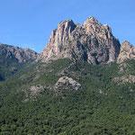 Le Capu d'Ortu depuis le village de Otta