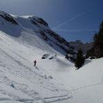 Beau ski dans les vallons de Grasse Chèvre